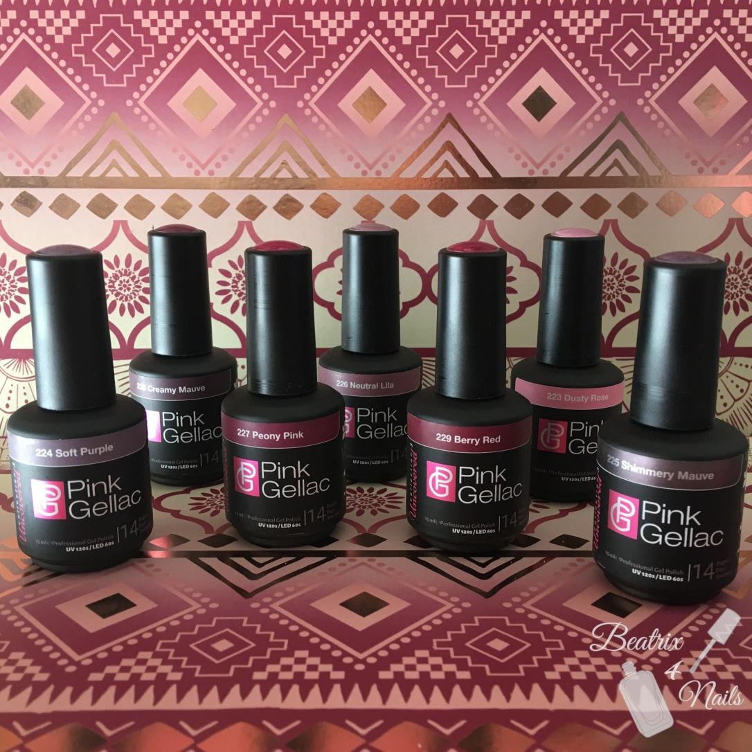 Colección Uncovered 3 de Pink Gellac